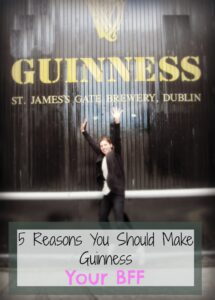 Five Reasons To Make Guinness, Queen of Beers, Dublin, Honeymoon, Guinness Factory
