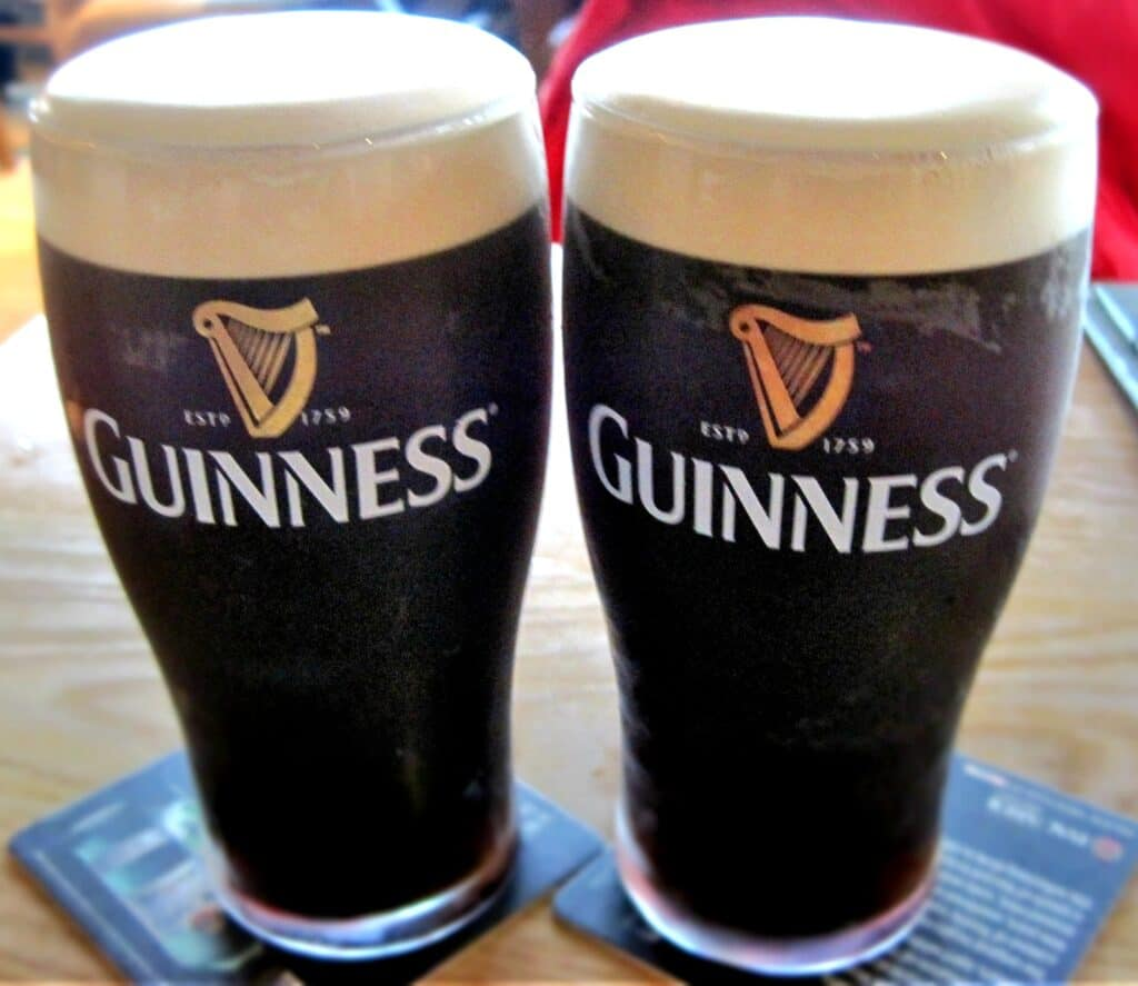 Guinness pints and the perfect pour