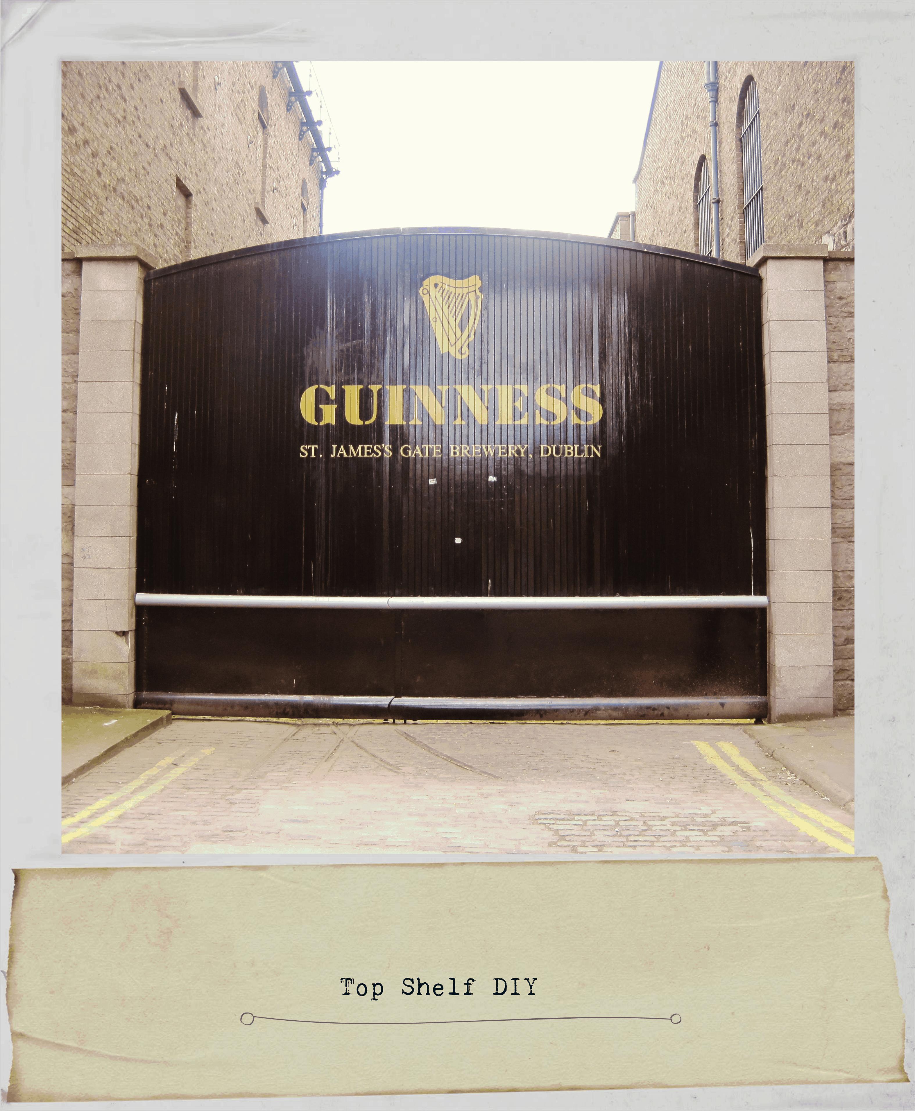 St. James Gate at Guinness Factory in Dublin