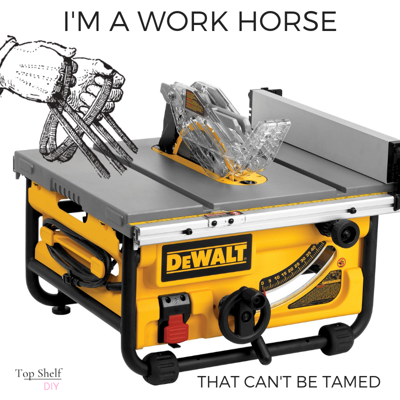 Yes you CAN tame that work horse with the right safety precautions.