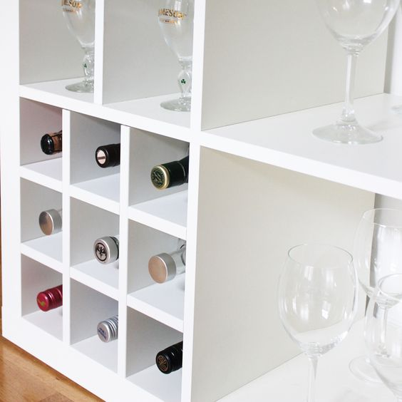 One of many design elements to transform your ikea furniture into bar design inspiration