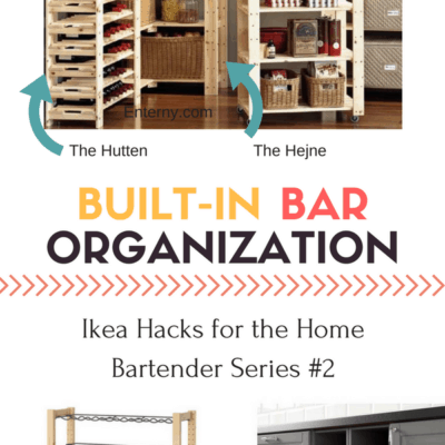 Expert Organization Options for Your Ikea Bar (Part 2 of Series)