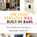 Part 3 of the Ikea Hack Home Bartender Series gives you all the Inspiration you need to start your Bar Hack today!