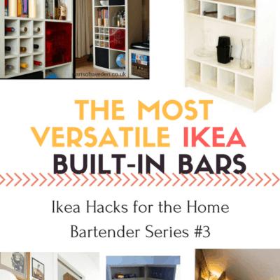 Versatile Ikea Built-In Bars: Photo Gallery Inspiration (Part 3 of Series)