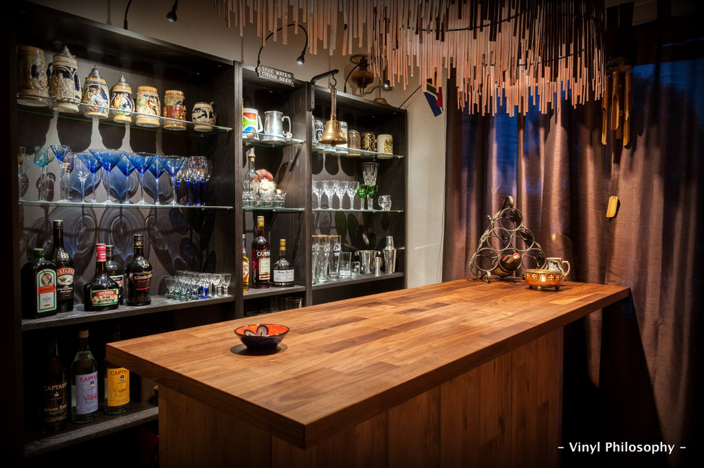 One of Many Built In Options for the Ikea Home Bartender Series