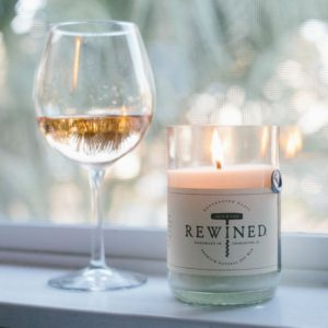 Mother's Day Gift - Wine Candle for Moms
