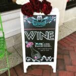 Want to make your own chalkboard sign without having to pay a designer or for printing services! Follow this DIY tutorial.