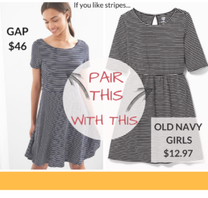 Get the Striped Mommy and Me Look for Less!