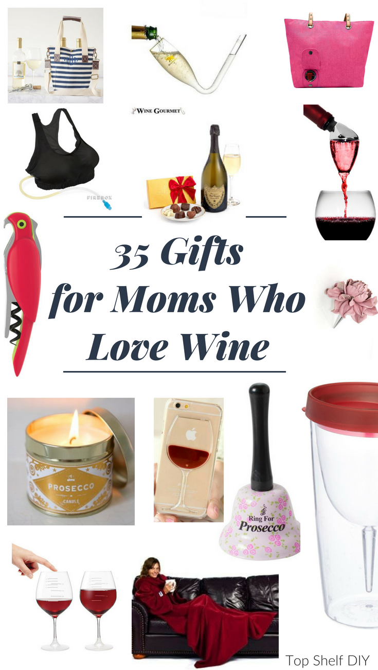 Everyone has a special someone who enjoys wine. Here's what to get them for their birthday, anniversary, housewarming, or any other special occasion! #winegifts #winemom #giftguides