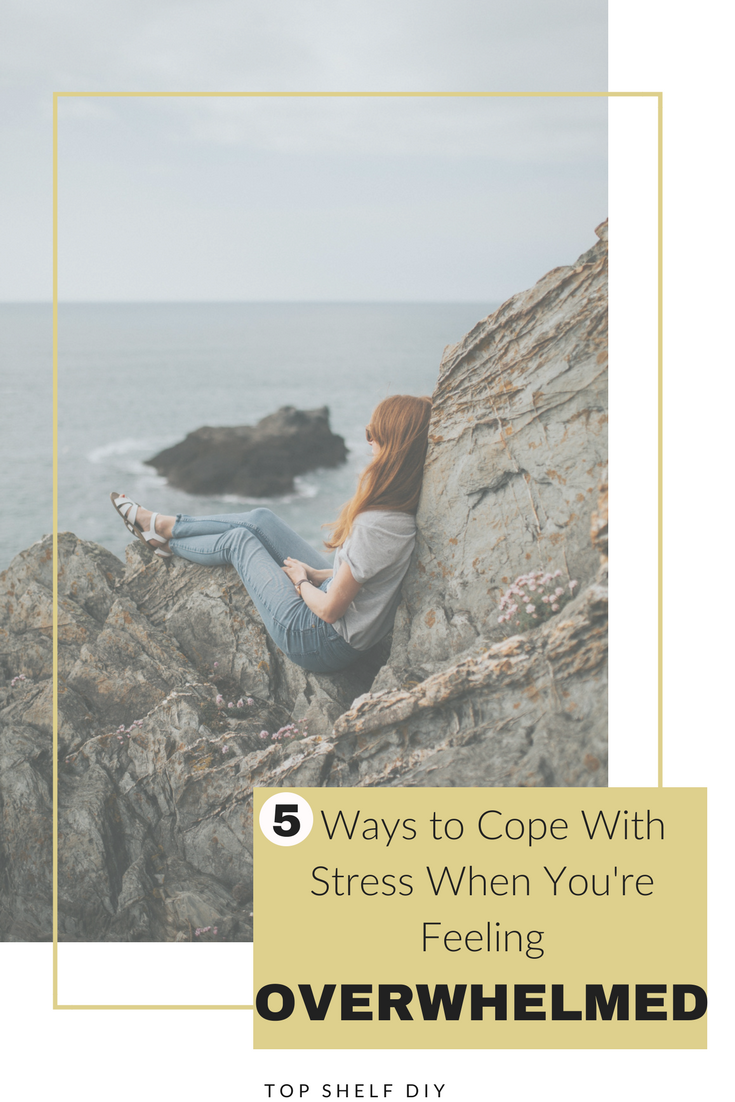 We all hit a wall at some point in our lives. Here are five easy steps to getting through it. #mentalhealth #motherhood #stress