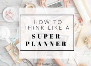 Great tips to plan your week with efficiency, insight and creativity! #superplanner #productivity #motherhood