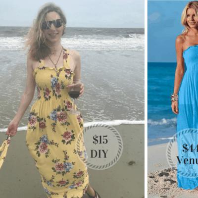 $15 DIY Maxi Dress Tutorial