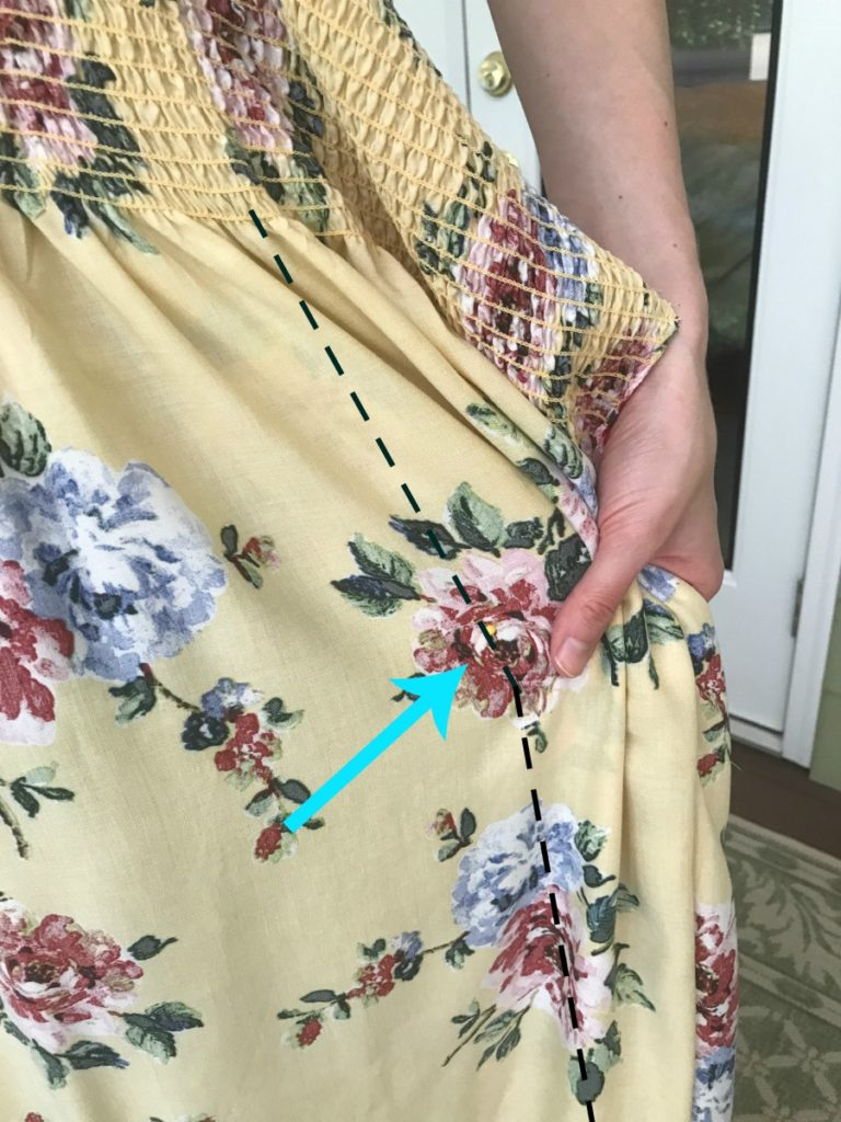 a great tutorial for an inexpensive maxi dress option