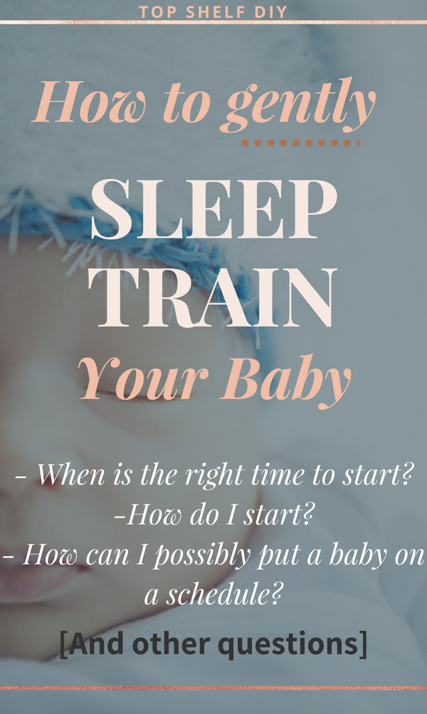 Sleep training is a touchy subject. But any mom who's hit the 4-month sleep regression knows how desperate we become when at the end of our rope. Here's a guide to getting your child on a better sleep schedule. #sleeptraining