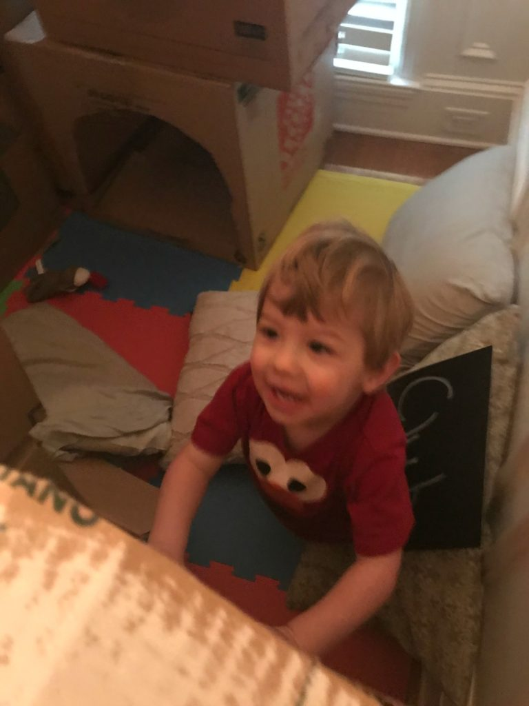 5 easy steps to assembling a cardboard fort
