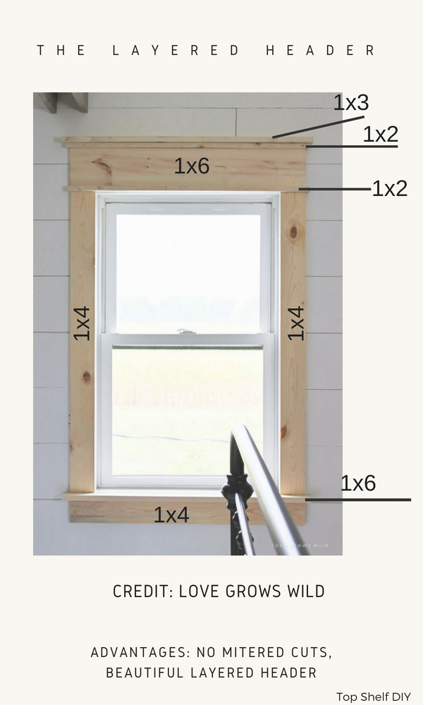 so many craftsman options to consider before you pry off the old sill. Save this for when you're ready!