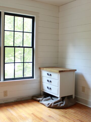 The office is getting a major farmhouse facelift!