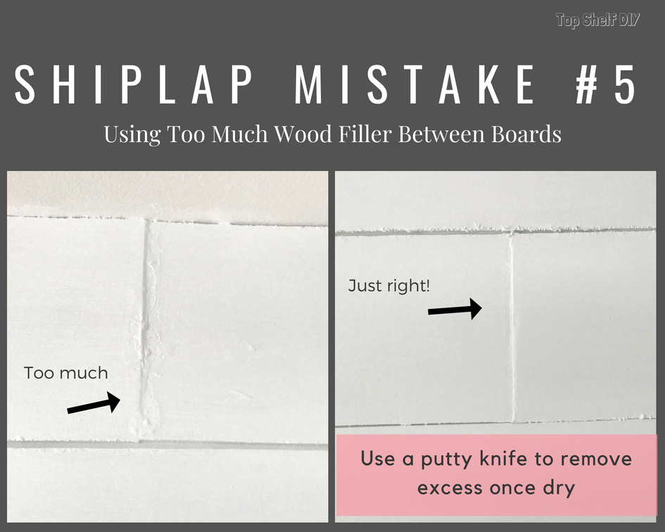 DIY home improvement: how to avoid 10 common mistakes when installing shiplap