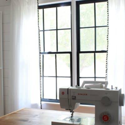 DIY Farmhouse Ikea Curtains