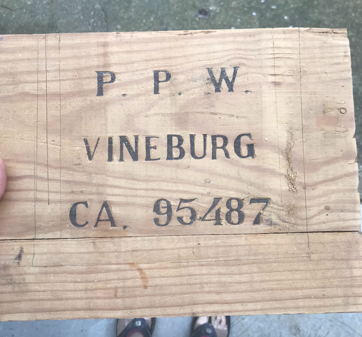 how to turn your wine crate into a wood lantern!