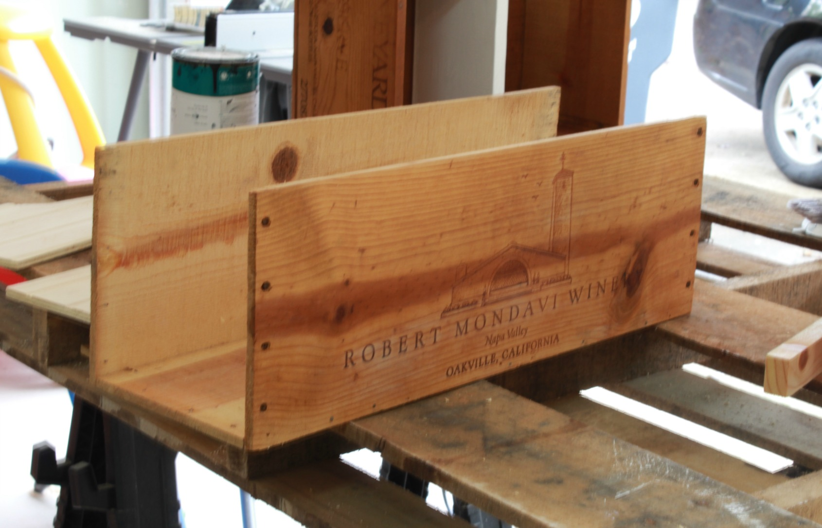 How to make a Farmhouse Tool Caddy