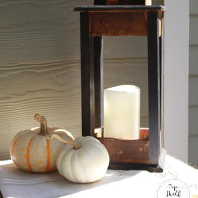 The Wine Crate Files : Make a Wood Lantern