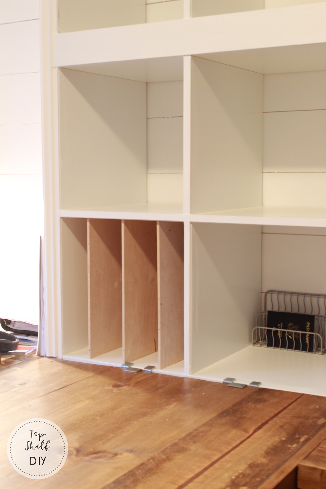 Here's how to add as many shelf dividers as you wish to your Kallax Unit!