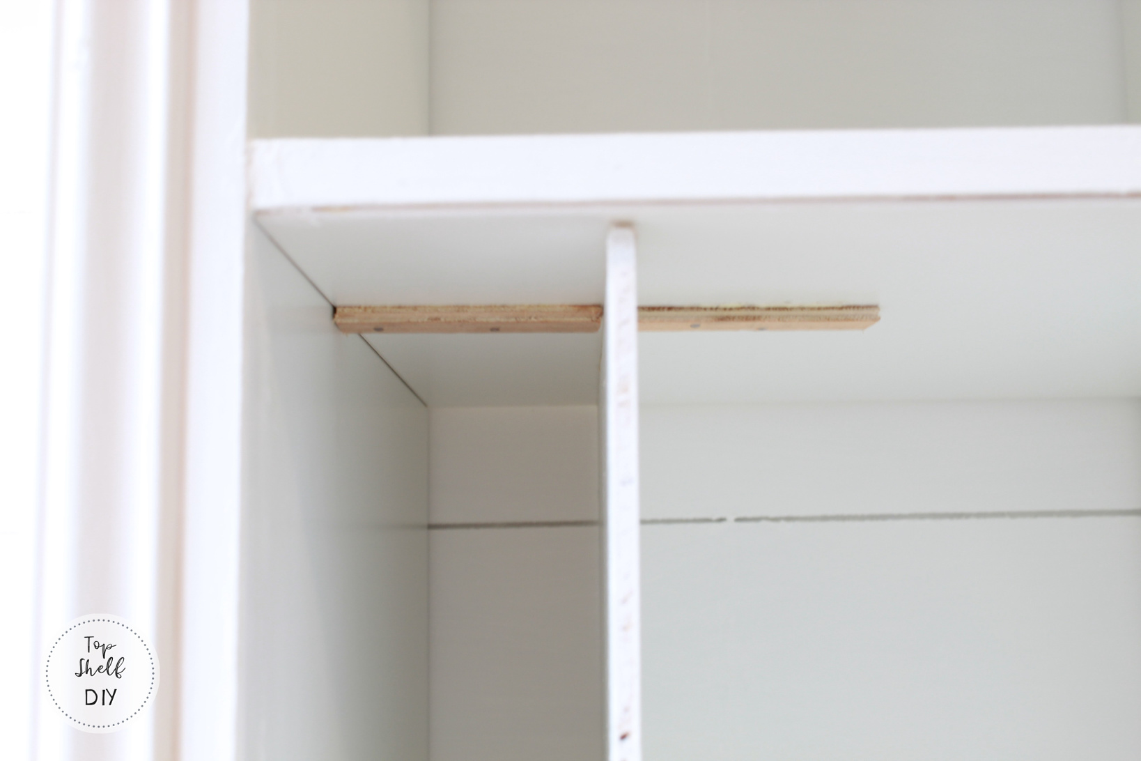 Use this hack to add organization and style to your Ikea kallax shelving unit!