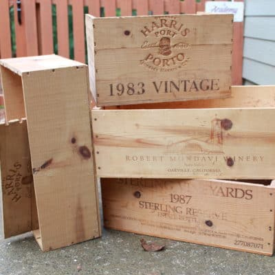 6 Ways to Repurpose an Old Wine Crate