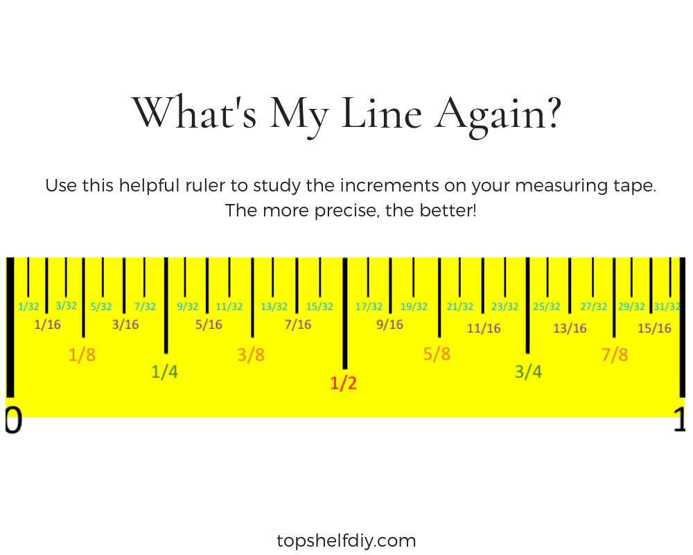 What do all those lines mean on a measuring tape? How do I work with random increments like 11/16 of an inch? This guide explains how to work around these items and make the right cuts every time. #measuringtape