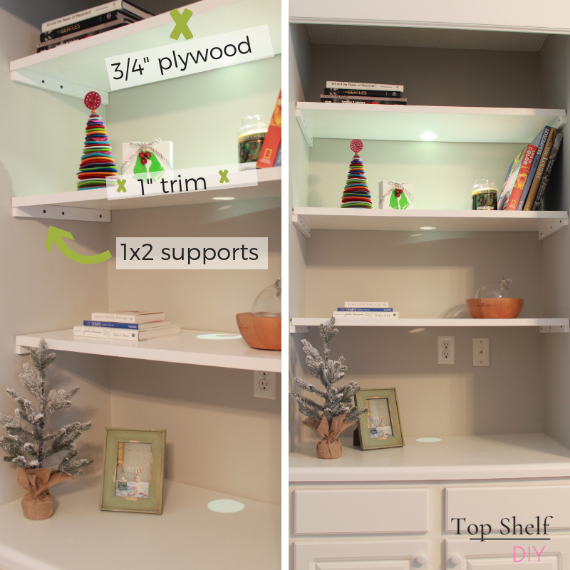 Get the skinny on four different ways to design shelving in your home, from free standing to built-in and everything in between. #closet #closetorganization #organization