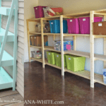 DIY Shelving Options for Builder Moms