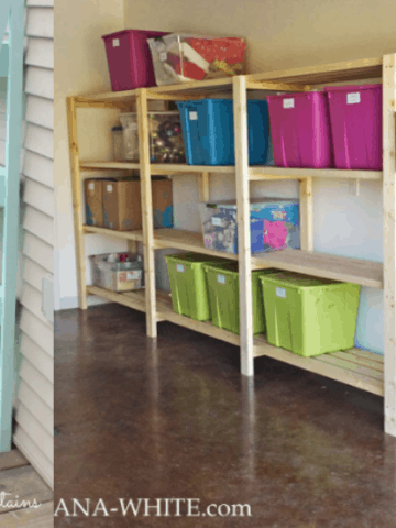 DIY Shelving Options for Builder Moms