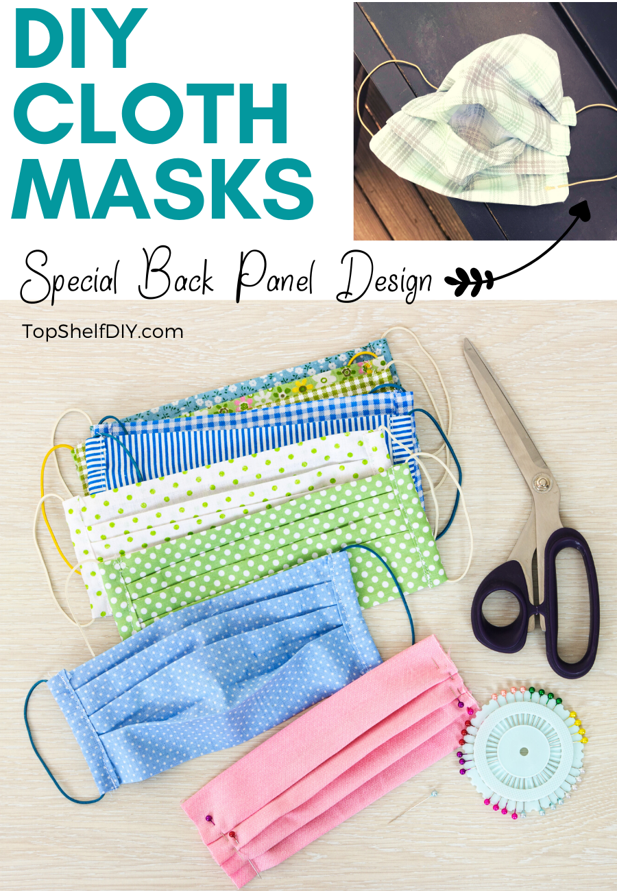 Ward off the coronavirus with an inexpensive DIY Cloth Face Mask at home using simple materials.