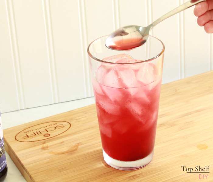 Fortify your immune system while sheltering in place with this delicious cocktail. #pandemic #quarantinehack #quarantine #cocktailrecipe