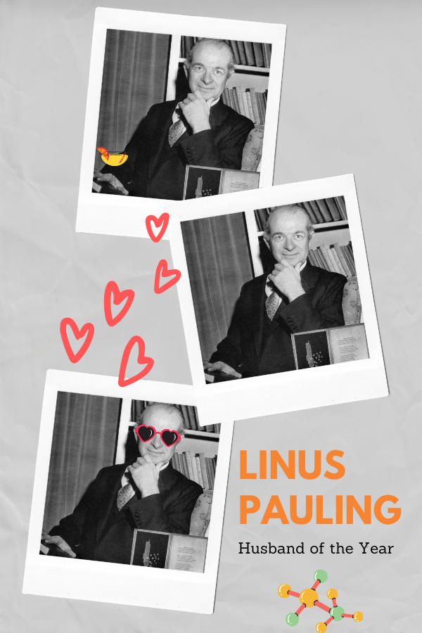 Linus Pauling: the myth, the man, the legend. Also, megadose vitamin proponent and posthumous supporter of The Covid Cocktail.