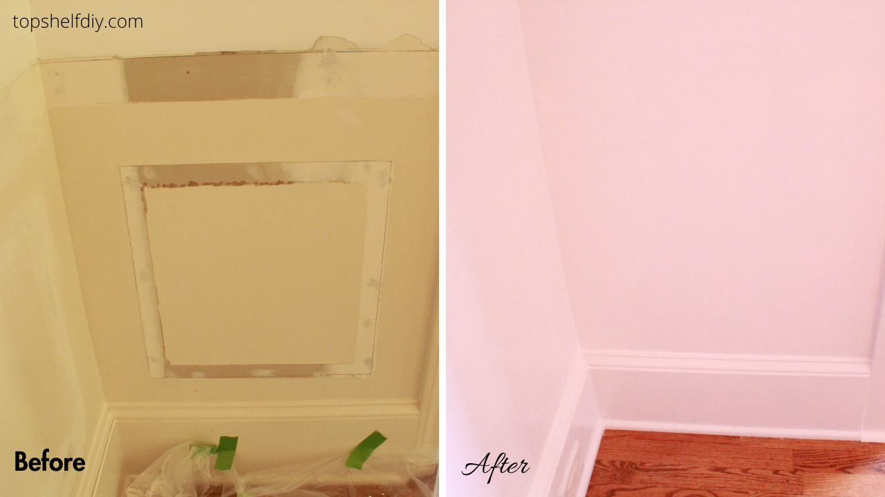 How to remove wainscoting with minimal drywall damage. Save for later!