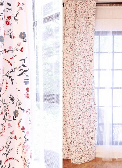 DIY Lined Custom Ikea Curtains