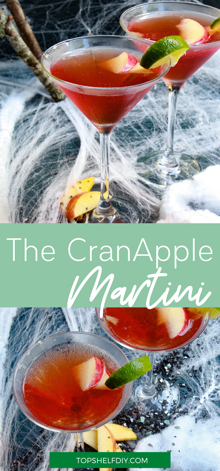 One whiff of this poison apple martini, and cocktail hour will never be the same. Get the recipe for three Halloween Cocktail appletini variations. #Halloweentreat