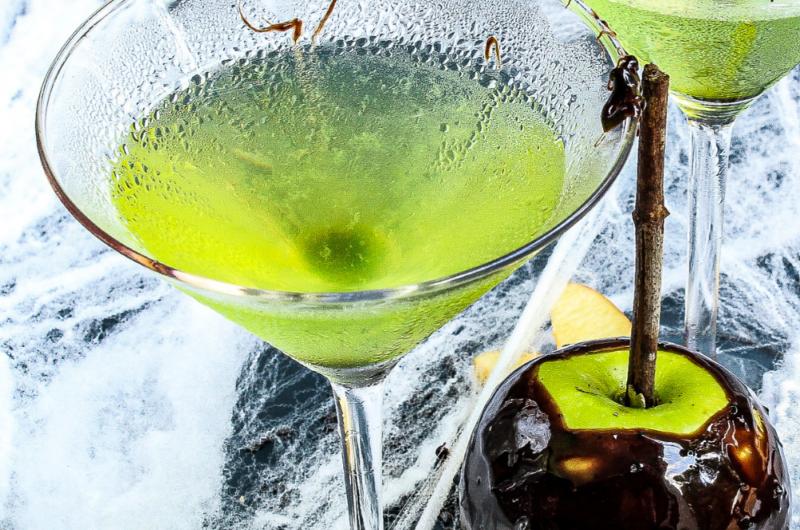 The Poison Apple Martini