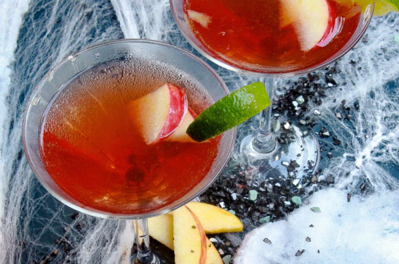 The Cran-Apple Harvest Martini