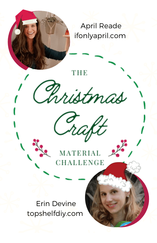 Christmas Craft Material Challenge