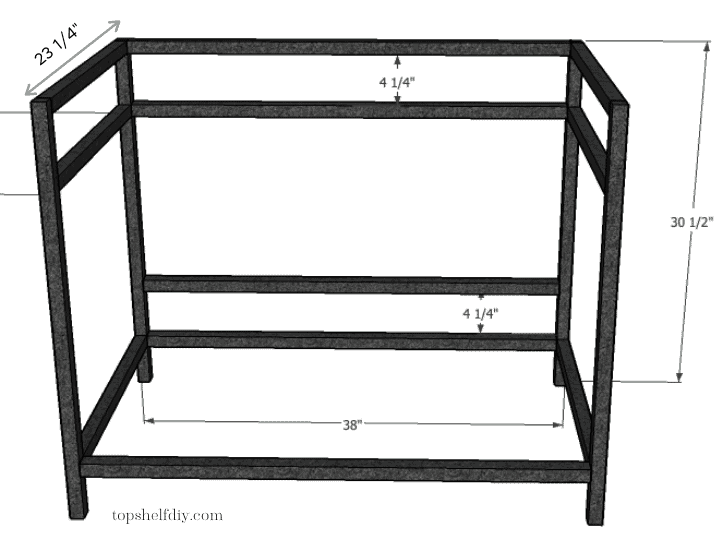 Step 3: cut your aluminum tubing. Get the free build plans for this DIY industrial metal bar cart made with a mix of wood and metal - no welding required! #barcart #diybarcart #aluminumtubing #mixedmaterials