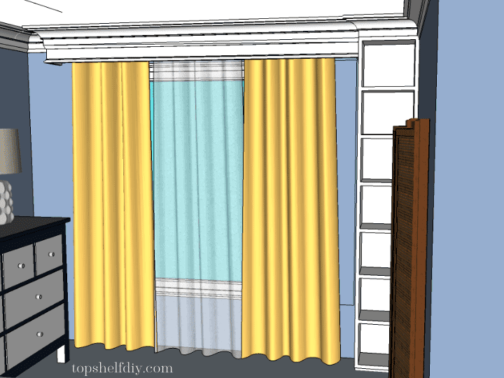 Here's how to build a cornice at the ceiling level from basic 1x pine and secure it to the studs as well as the joists. Full plans and step-by-step description.